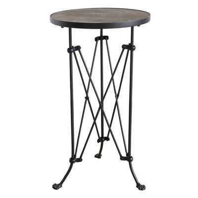Abequas Metal End Table - Wayfair