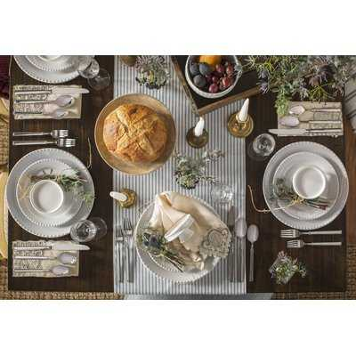 Tegan Table Linen Table Runner - Birch Lane