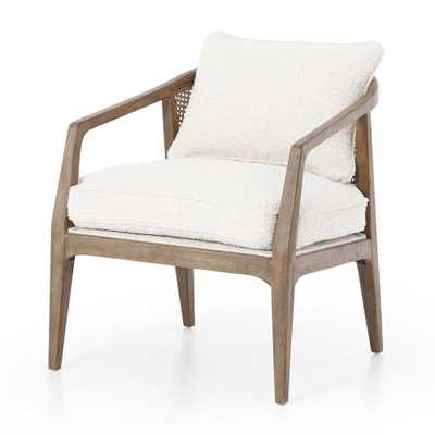 Audra Rattan Back Chair - Crate and Barrel
