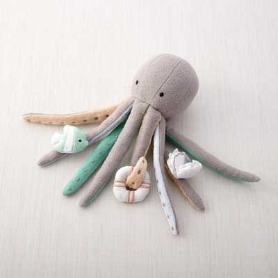 Making Waves Octopus Baby Activity Toy - Crate and Barrel