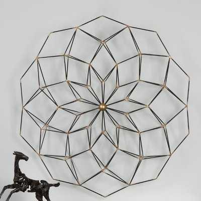 Geometric Floral Wall Décor - AllModern