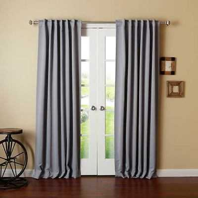 Rose Street Grey 52 x 84 Curtain Panel - 2307-1974431-251 - eBay