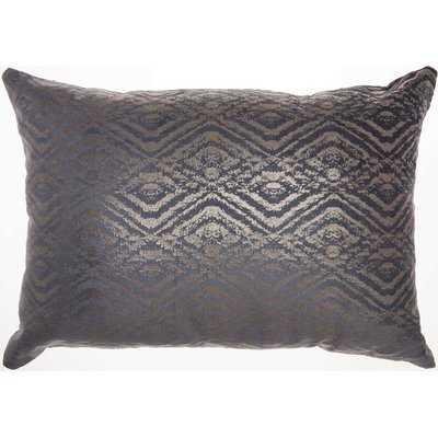 Lisk Rectangular Velvet Lumbar Pillow - Wayfair