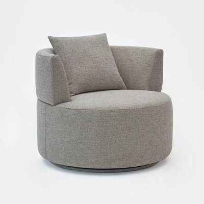 Sigisbert Swivel Barrel Chair - AllModern