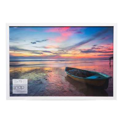 Single Image 13X19 White Wood Frame - Gallery Solutions - Target