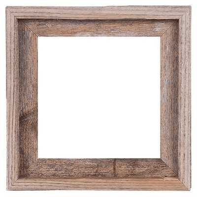 Mertie Barn Wood Reclaimed Wood Open Picture Frame - Birch Lane