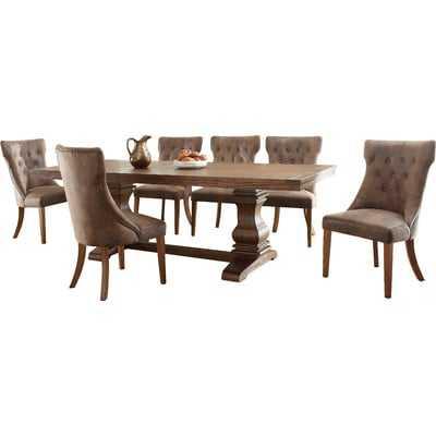 Parfondeval Extendable Wood Dining Table - Wayfair