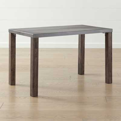 """Galvin 48"""" Metal Top Dining Table - Crate and Barrel"""