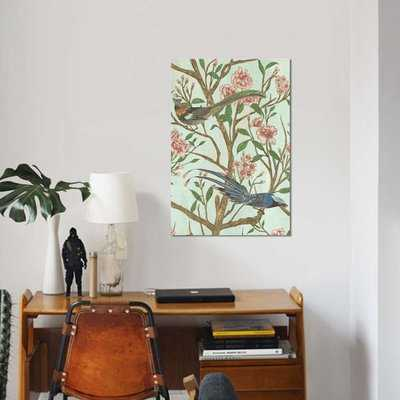 'Delicate Chinoiserie II' Graphic Art Print on Canvas - Wayfair