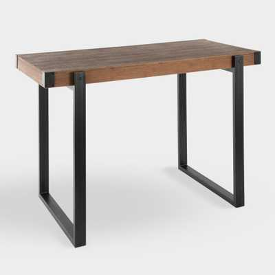 Metal and Wood Langdon Counter Height Table by World Market - World Market/Cost Plus