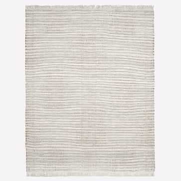 Palisade Rug, Frost Gray, 9'x12' - West Elm