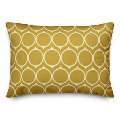 Tiberius Mid Mod Circles Lumbar Pillow - Wayfair