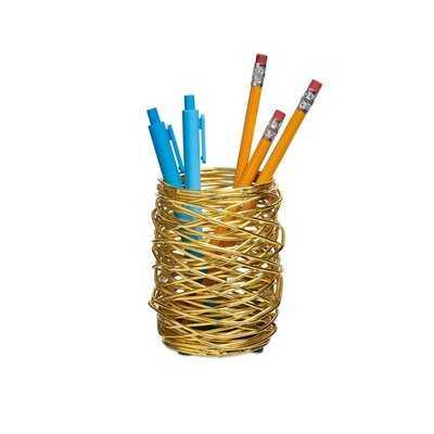 WoundUp Pencil Cup - Wayfair