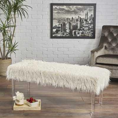 Roesler Glam Bench - Wayfair