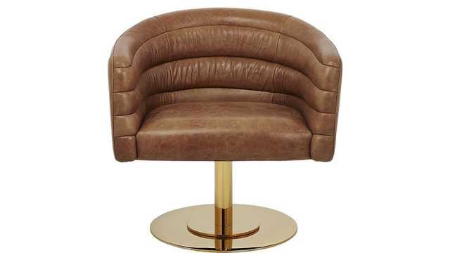 Cupa leather chair - CB2