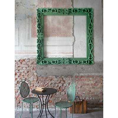 Ellen Large Accent Mirror Frame - Wayfair