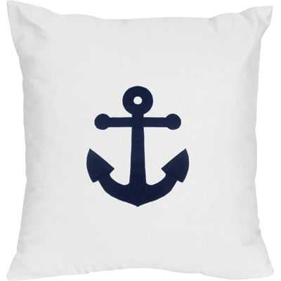 Anchors Away Decorative Accent Cotton Throw Pillow - Wayfair