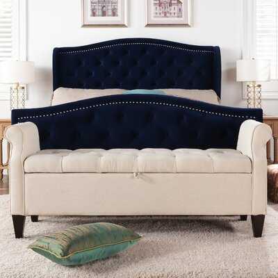 Maconay Upholstered Storage Bench - Wayfair