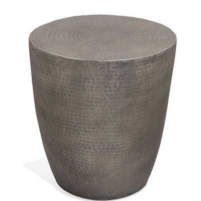 Drum End Table - Wayfair