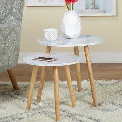 Chantay 2 Piece Nesting Tables - Wayfair