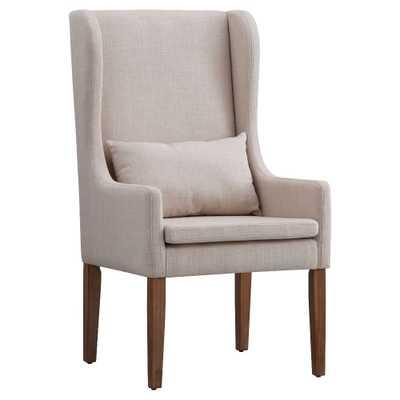 Walton Park Wingback Hostess Chair - Oatmeal - Inspire Q, New Oat - Target