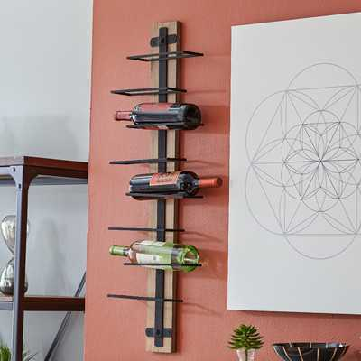 8 Bottle Wall Mounted Wine Rack - AllModern