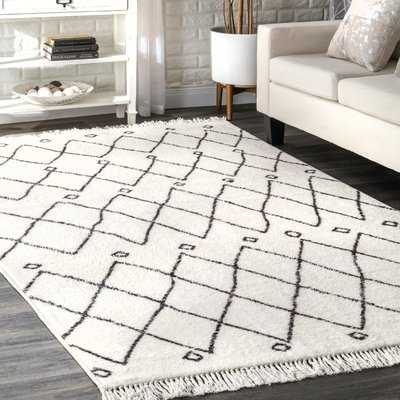 Simons Off White Area Rug - Wayfair