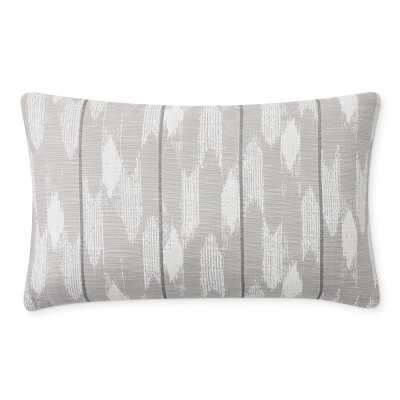 "Perennials Sultan Swing Pillow Cover, 14"" X 22"", Grey - Williams Sonoma"