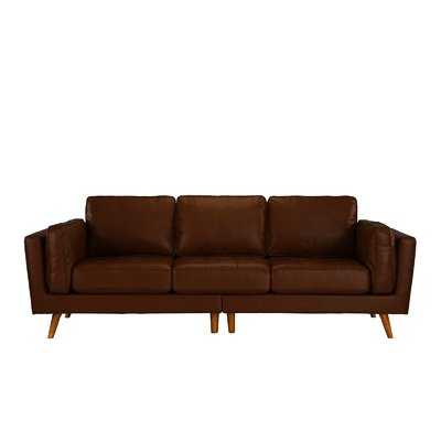 Marrufo Leather Sofa - Wayfair
