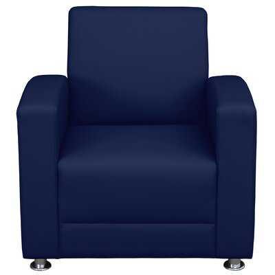 Mcjunkin Lounge Chair- Navy Blue - Wayfair