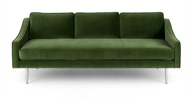Mirage Grass Green Sofa - Article