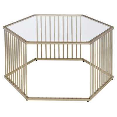 Coffee Table Brass - Acme - Target