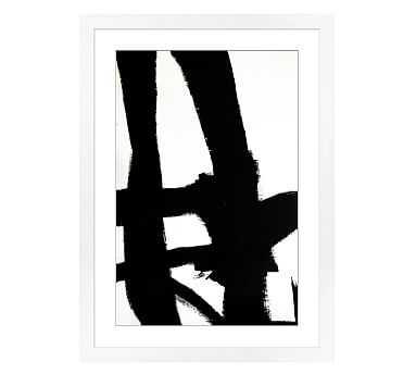 "Modern Gesture Framed Print, 17 x 24"" - Pottery Barn"