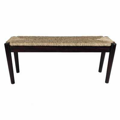 Harlowe Wood Bench - Wayfair