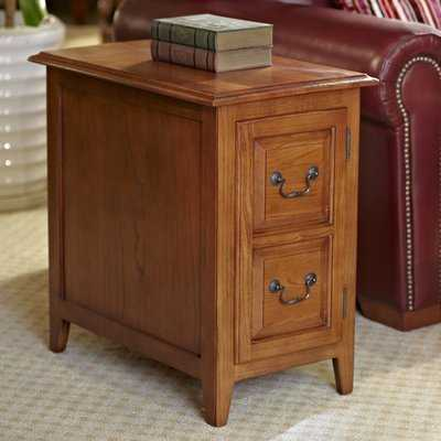 Wilfredo End Table With Storage - Birch Lane
