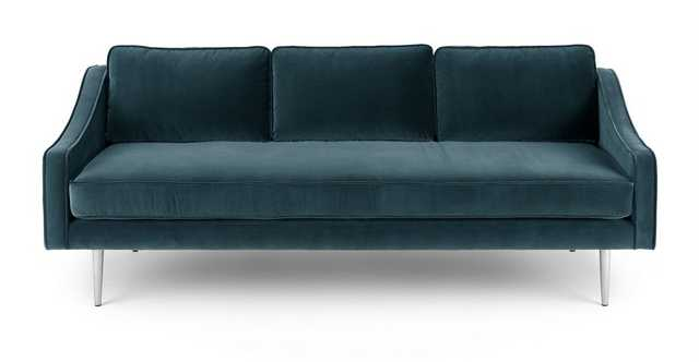 Mirage Pacific Blue Sofa - Article