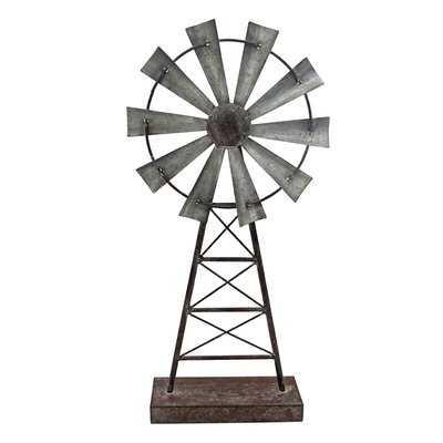 Windmill Table Sculpture - Birch Lane