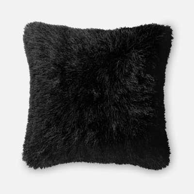 """PILLOWS - BLACK - 22"""" X 22"""" Cover Only - Loma Threads"""