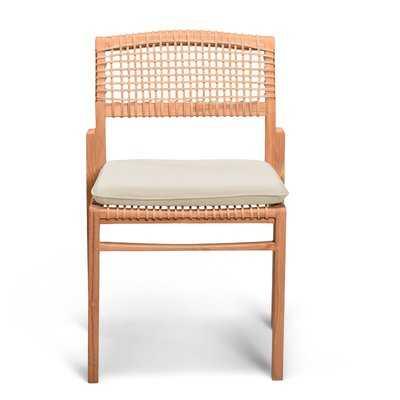 Alcala Solid Wood Dining Chair - Wayfair