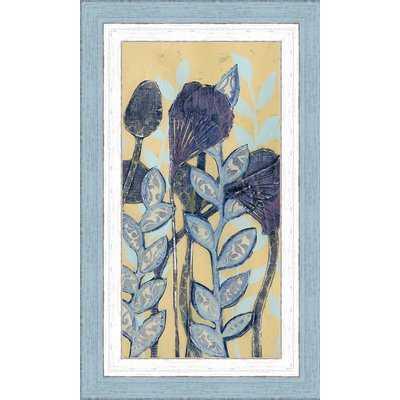 'Chromatic Floral Mix I' Framed Painting Print - Wayfair