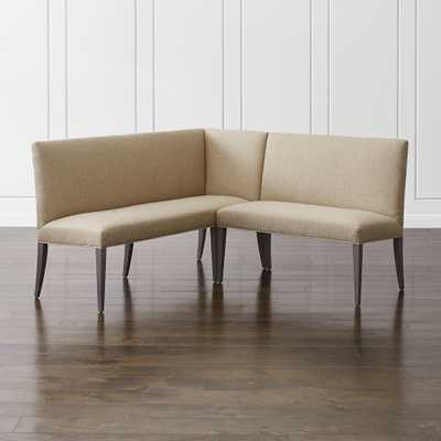 Miles Small Right Facing Corner Banquette - Crate and Barrel