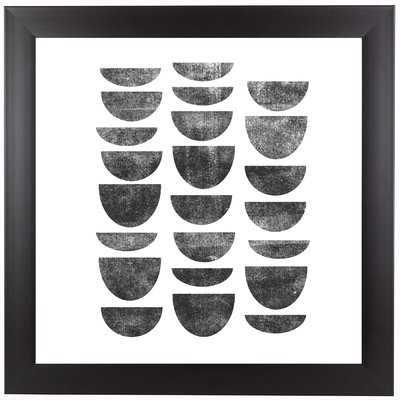 Scandinavian Geometry Framed Graphic Art - Wayfair