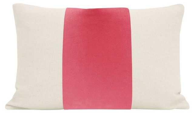 "The Little Lumbar :: PANEL Signature Velvet // Rosé Pink - 12"" X 18"" - Little Design Company"