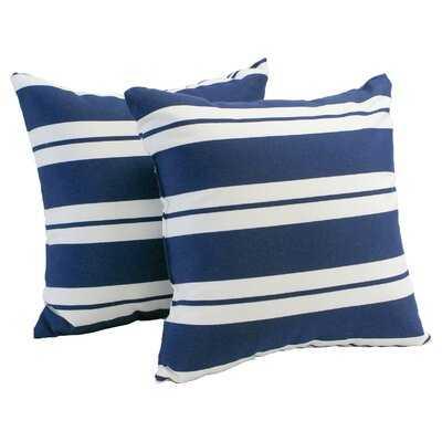 Geneva Indoor/Outdoor Throw Pillow - Set of 2 - Wayfair