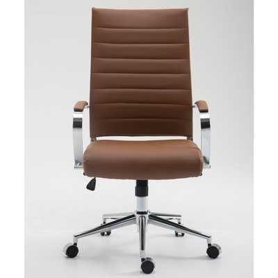 Clovis High-Back Desk Chair - Wayfair