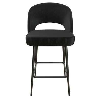 "Alexi Upholstered 24"" Bar Stool - Wayfair"