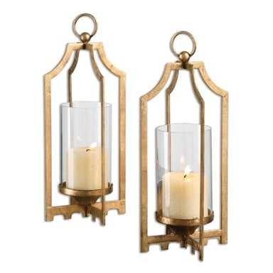 Lucy, Candleholders, S/2 - Hudsonhill Foundry