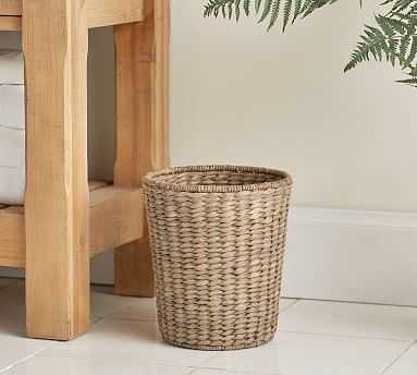 Perry Waste Basket, Gray Wash - Pottery Barn