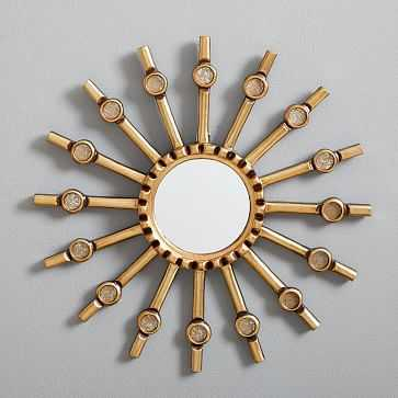 "Peruvian Wall Mirror, 15"" Starburst - West Elm"