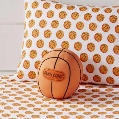 Basketball Throw Pillow - Crate and Barrel